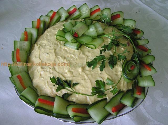 как приготовить салат из салата