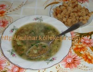 Рецепт приготовления чечевичного супа