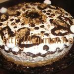 Домашний торт Сникерс