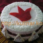 Торт в виде короны