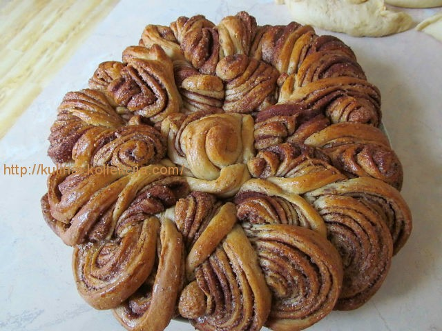 Пирог с корицей рецепт с фото пошагово