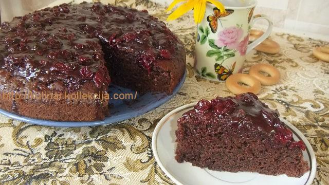 Вкусный торт с вишней рецепт с фото