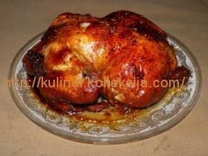 Курица в медово-соевом маринаде