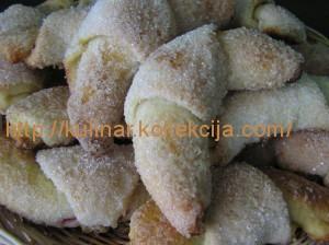 Сахарные рогалики