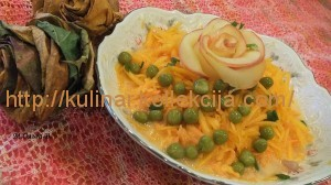 Морковно-тыквенный салат