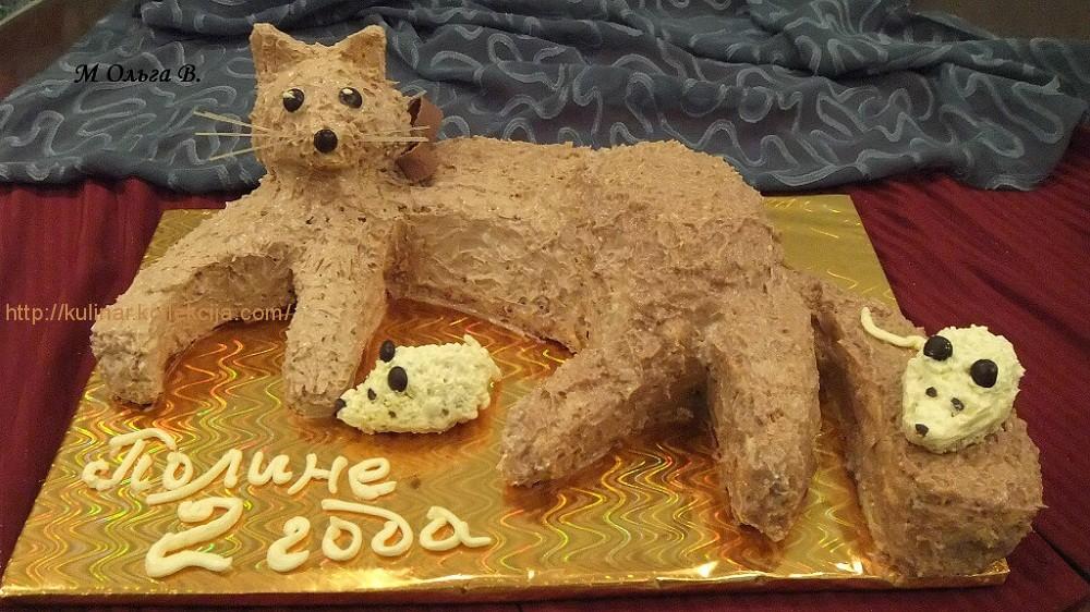 Рецепт торта кис-ки