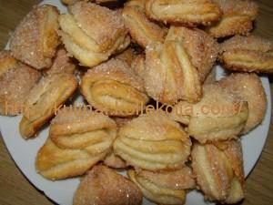 Печенье из творожного теста