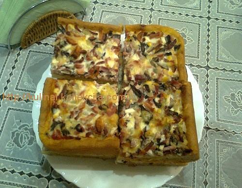Рецепт деревенской пиццы