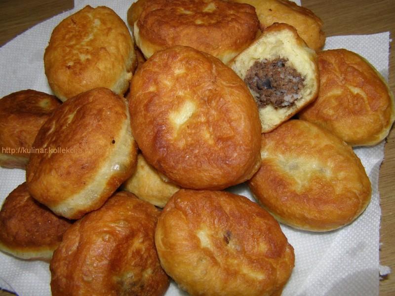 пирожки из заварного теста