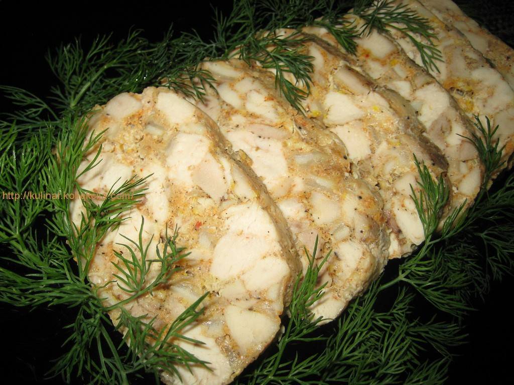 зельц из курицы рецепт с фото