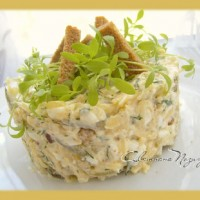 Салат Пикантный сыр