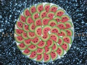 печенье «Арбузы»