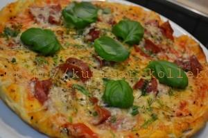 Приготовление пиццы в домашних условиях