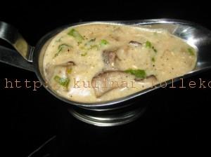сливочно- грибной соус