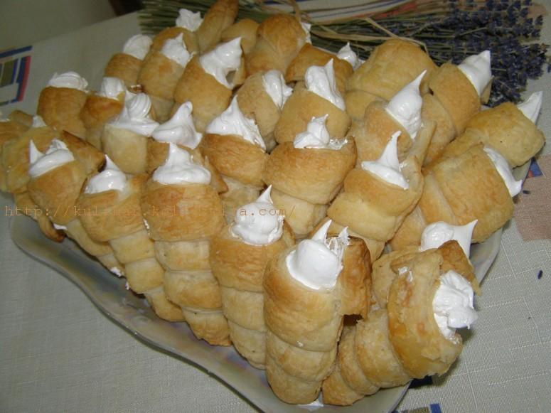 пирожное муфточка рецепт с белковым кремом