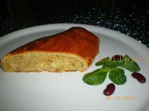 рулет с фаршем и сыром