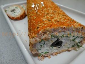 рыбный рулет с желатином