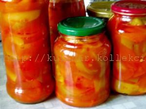 болгарский перец в томатном соусе