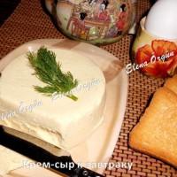 Крем из творожного сыра