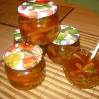 Варенье из апельсинов с киви