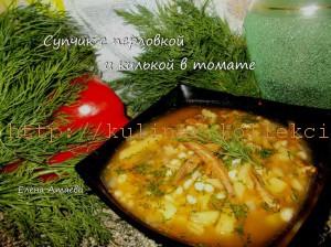 sup s perlovkoy i kilkoy