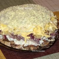 Салат Мимоза без картошки