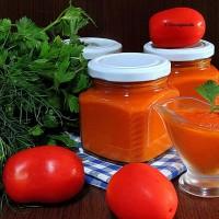соус из овощей на зиму