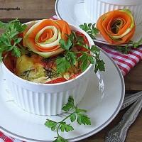 Овощная запеканка с кабачком