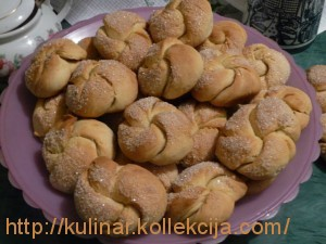 Печенье жгутики