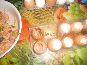 Заливное в форме яйца