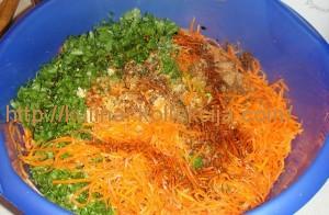 Рецепт приготовления моркови по-корейски