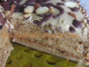 Торт медовый с тонкими коржами