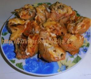 Фаршированные макароны ракушки рецепт