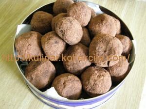 Как приготовить трюфели конфеты