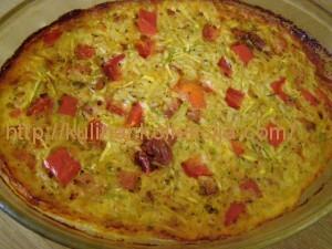Запеканка овощная с рисом