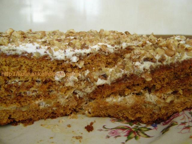 медовик торт рецепт с фото в домашних условиях