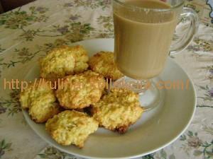 Кокосово-медовое печенье