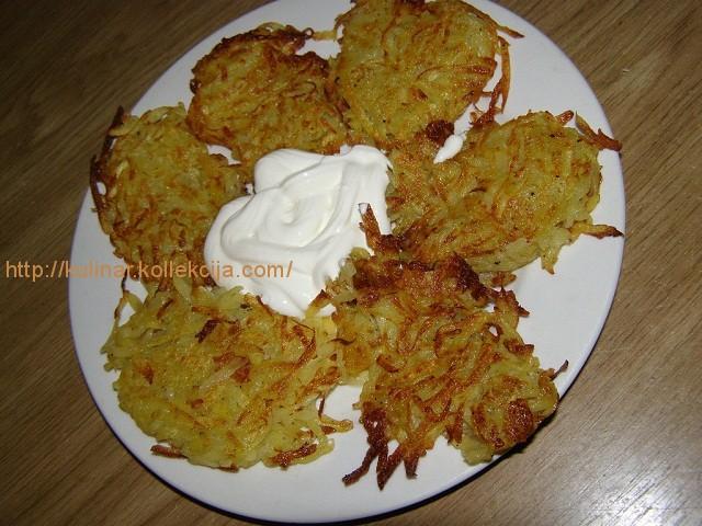 Драники картофельные без муки
