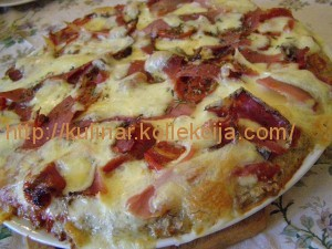 Рецепт пиццы в домашних условиях