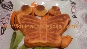 Творожно-тыквенный кекс