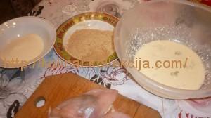 Куриные грудки с начинкой