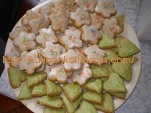 Печенье цветочное