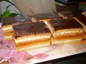 медовое пирожное рецепт
