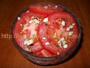 Салат помидоры в маринаде