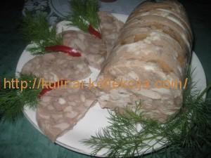 Как приготовить рулет из свинины