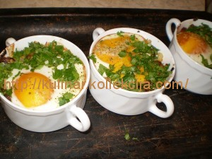 Запеканка из макарон с яйцом