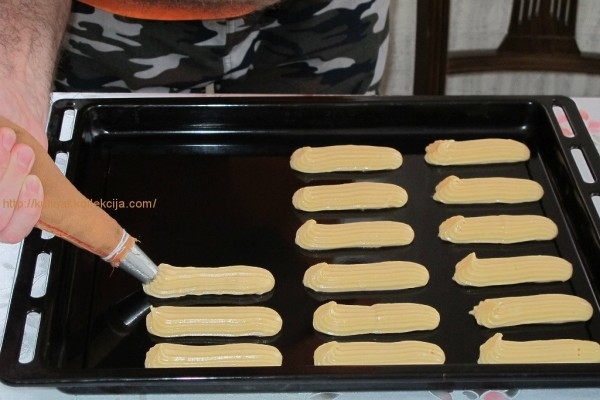 заварных пирожных рецепт с фото
