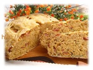 хлеб с сырои и ветчиной
