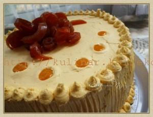 Абрикосовый торт Морель