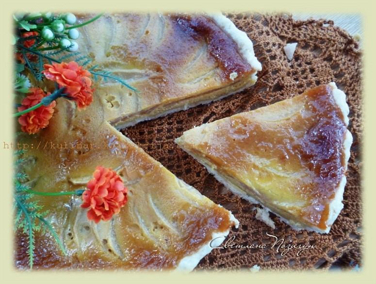 тарт с грушами
